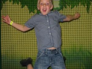 Viktor hoppar